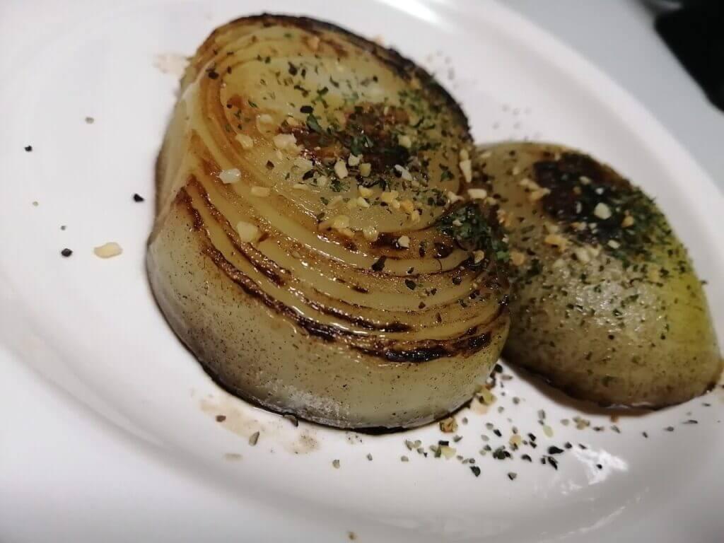 玉ねぎのステーキ