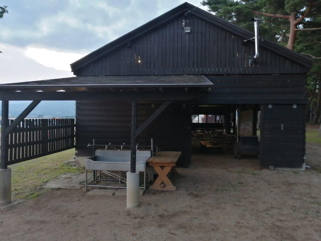 天神浜オートキャンプ場の炊事場